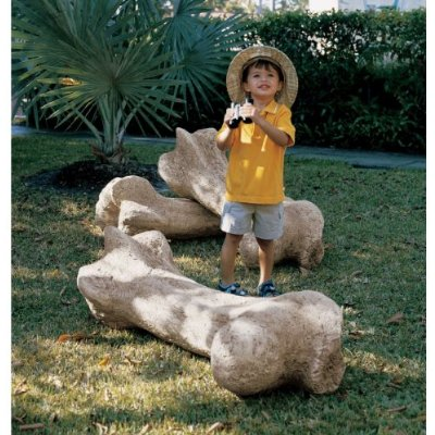 Giant Dinosaur Bone Sculpture