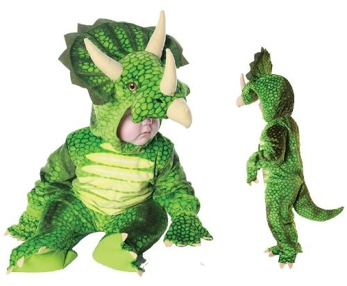 Infant Dinosaur Halloween Costume - Infant Triceratops Costume