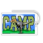Ty Rex Personalized Camp Bag Tag