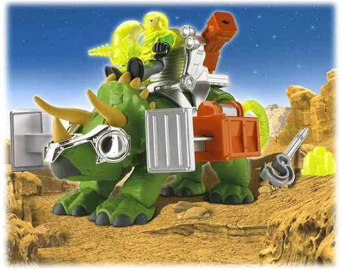Imaginext Triceratops New Dinosaur Toys