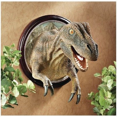 t rex wall sculpture